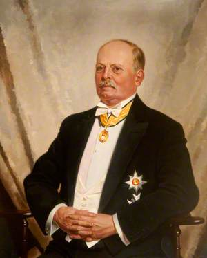 Sir Arthur Munro Sutherland (1867–1953), as Knight Commander with Star of the Order of St Olaf of Norway