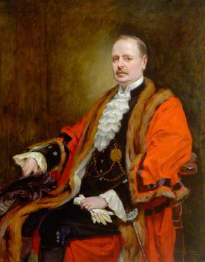 The Right Honourable Arthur Munro Sutherland (1867–1953), JP, Lord Mayor of Newcastle upon Tyne (1918–1919)