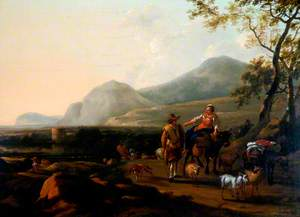 Landscape with a Shepherd and His Flock