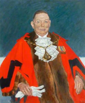 Alderman J. A. Brown, First Mayor, County Borough of Teesside (1968–1969)
