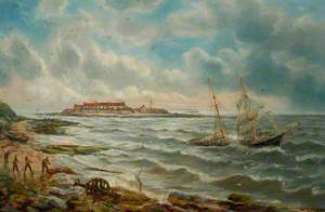 Foundering off St Mary's Island