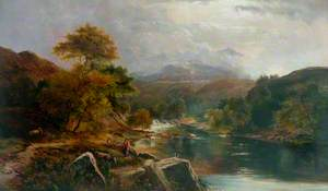 River with Figures and Cattle*