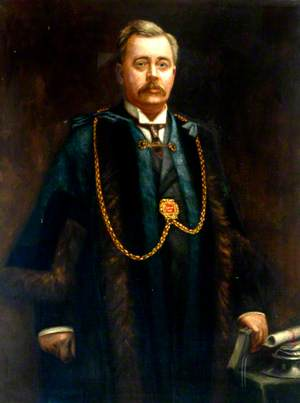 Councillor William Hardie, Mayor of Tynemouth (1908–1909)