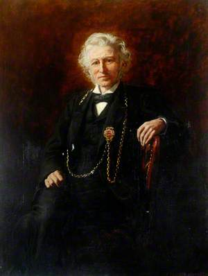 Alderman John Foster Spence (1818–1901), JP, Mayor of Tynemouth (1861 & 1891–1893)