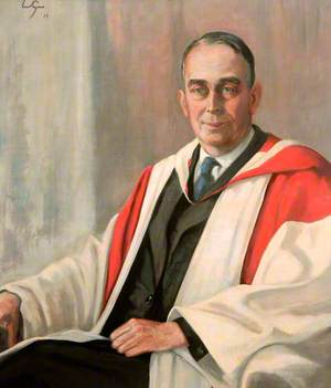 Professor Ronald Bramble Green (1895–1973), CBE, MRCS, FRCS, MBBS, LRCP, Dean of Medicine at Newcastle University (1937–1960)