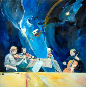 Lindsay String Quartet Playing Schubert's 'Death and the Maiden'