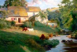 Landscape by Ovingham, Northumberland