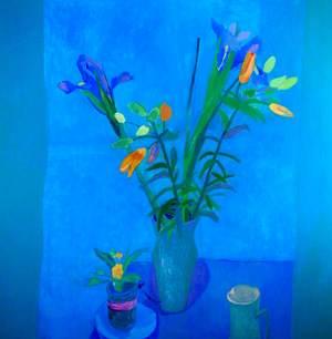 Blue Flowers*