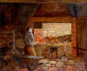 The Forge, Woodhorn Colliery, Northumberland