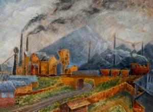 Ashington Colliery, Northumberland, 1936