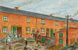 'Bill's Been Hurt', 19 Alexandra Row, Barrington Colliery, Northumberland, 1933