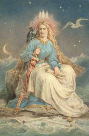 Mythical Figure of 'Iceland'