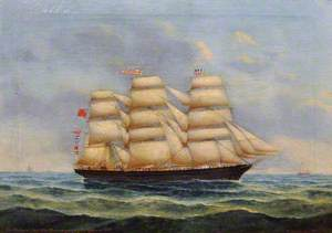 Portrait of the Ship 'William Melhuish'