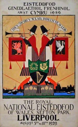 Poster Eisteddfod Genedlaethol Cymru / National Eisteddfod of Wales Poster