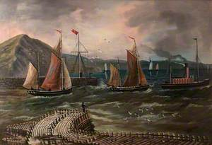 Harbour Scene, Aberystwyth