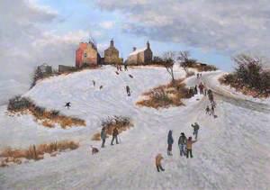 Snow Scene (Cefn Mawr)