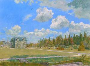 Study for 'Gregynog, Early Summer Light'