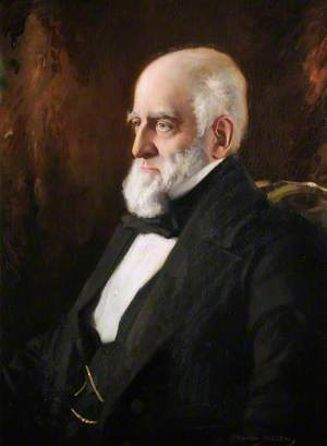The Right Honourable Edward James (1818–1891), 3rd Earl of Powis, First President of the College (1883–1891)