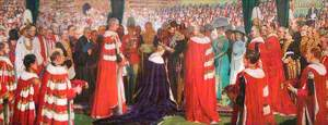 The Investiture of the Prince of Wales, 1911