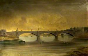 Trefechan Bridge after Rebuilding, 1888