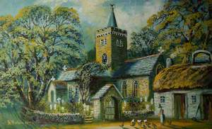 Llanbadarn Church