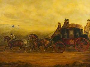 The Gloucester, Aberystwyth Mail Coach