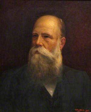 Portrait of an Unknown Man with Full Beard