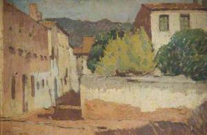 Townscape, South of France (?)
