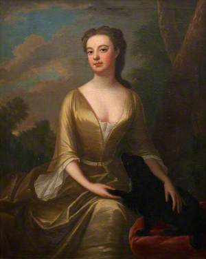 Portrait of an Unknown Lady in Green