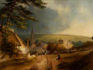 A View of Kidwelly