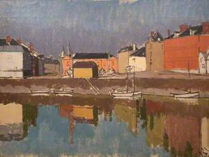 Quayside with Reflections