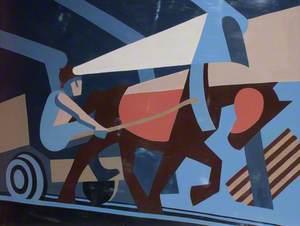 Triptych No. 13 Pit Pony