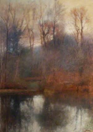 Woodland Scene, Stradey Pond
