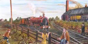 Dad's the Driver, the Buckley Railway, Etna Brickworks, 1930s