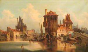 Scene in the Low Countries