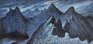 Nocturne: The Horseshoe Ridge, Snowdon