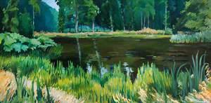 The Lake, Gregynog