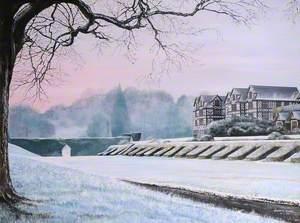 Winter, Gregynog