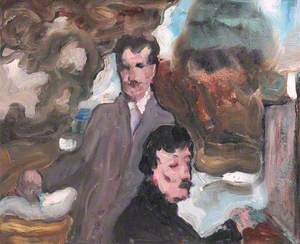 Double Portrait at an Easel