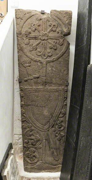 Carved Grave Cover