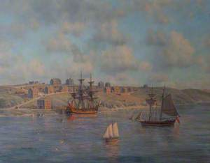 A View of Milford Haven, Wales, 1798