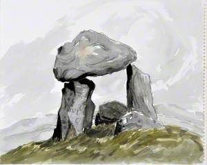 Cromlech Bodowyr / Bodowyr Burial Chamber