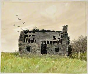 Adfeilion Bwthyn, Llantrisant / Ruined Cottage, Llantrisant