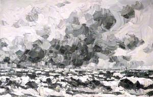 Snowstorm off Penmon