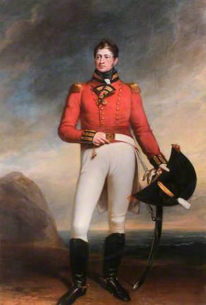 Lieutenant Colonel William Edgell Wyatt 2/23rd Foot