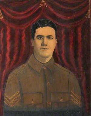 235367 Sergeant H. G. Maycock, 4th Battalion, RWF