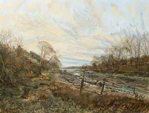 Evening: Rhoose Ferry