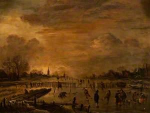 A Winter Scene (Thunn)