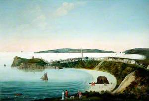 Tenby from North Cliff