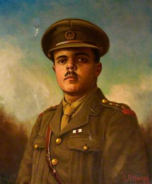 Captain Harold James Brown, MC, 12th Battalion, South Wales Borderers during the First World War